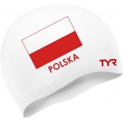 Poland Swim Cap