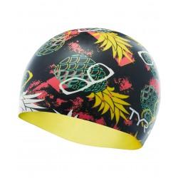 Pineapple Man Swim Cap