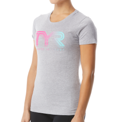 """Women's """"Ombre Team TYR"""" Graphic Tee"""
