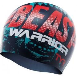 Beast Warrior Swim Cap